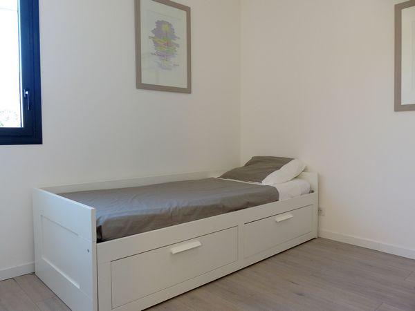 location Sausset-les-pins appartement pour 5 personnes chambre enfants le lit gigogne