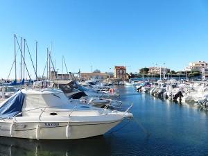 le port de Sausset-les-pins 5 février 1